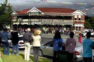 Historic St Marys Hotel - Lions Xmas Parade