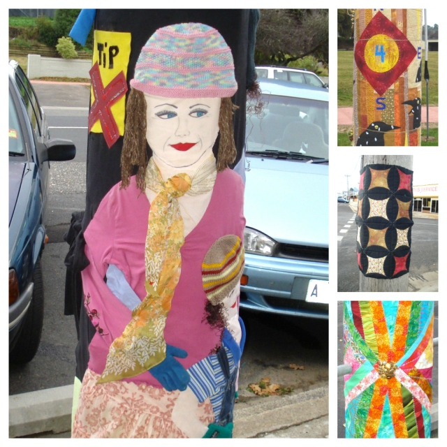 Power pole wraps 2012 - St Marys Tas